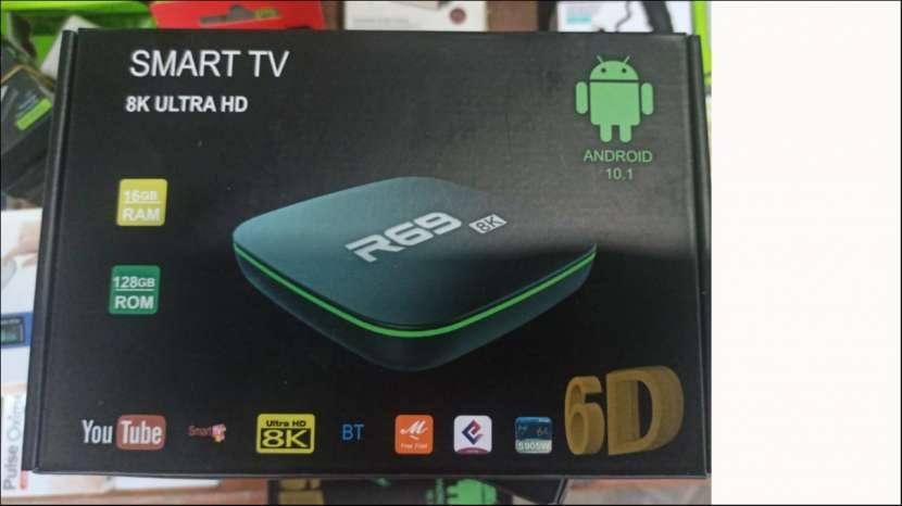 Tv box R69 Android 10.1 ram 16 gb 128gb rom - 0