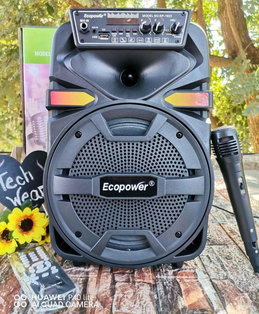 Parlante Ecopower 8 pulgadas - 0