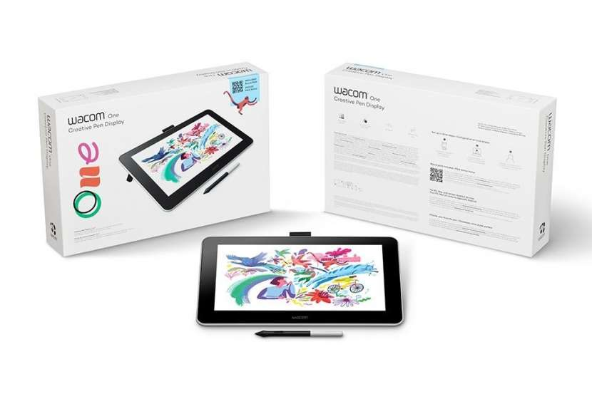 Tableta gráfica Wacom One Creative Pen Display - 1