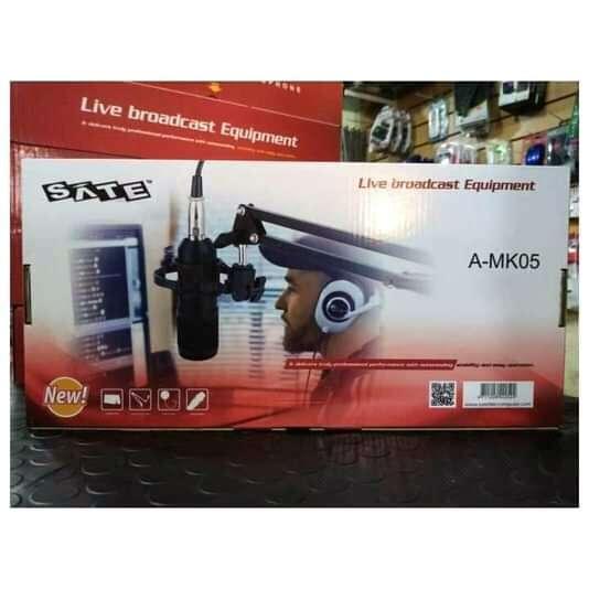 Kit micrófono para streamer Youtuber Sate A-MK05 - 0