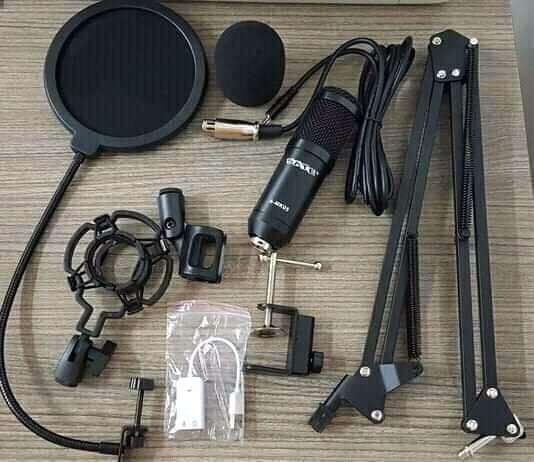 Kit micrófono para streamer Youtuber Sate A-MK05 - 1