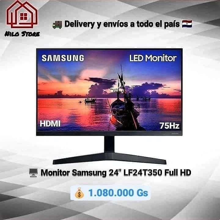 Monitor Samsung 24 pulgadas T350 75hz - 0