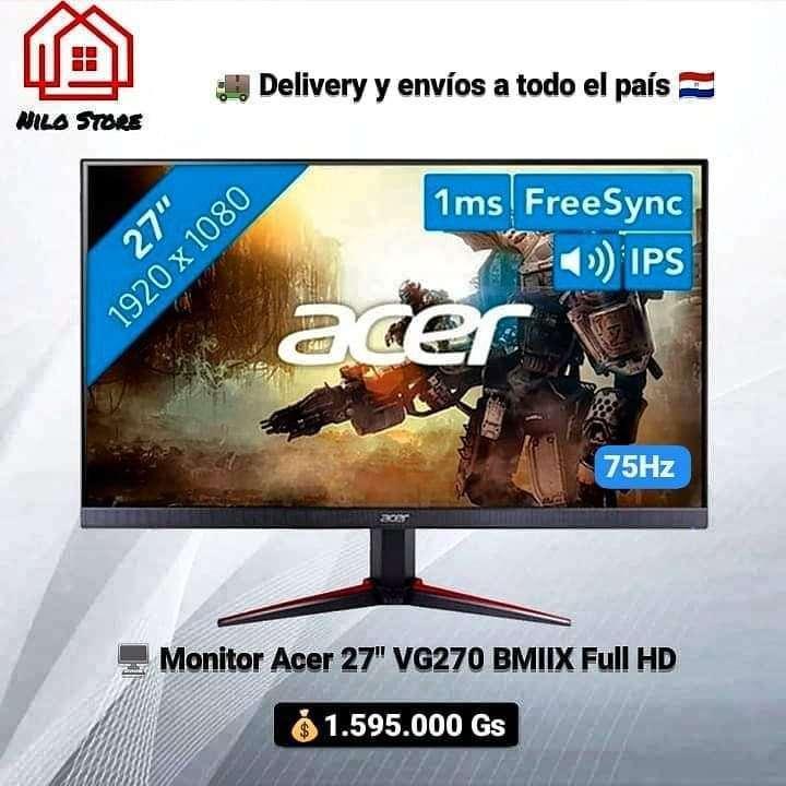 Monitor Acer 27 pulgadas VG270 75HZ - 0