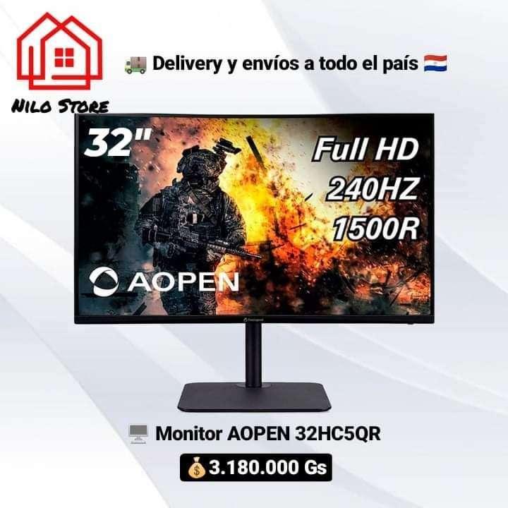 Monitor Aopen 32 pulgadas Curvo 240hz - 0