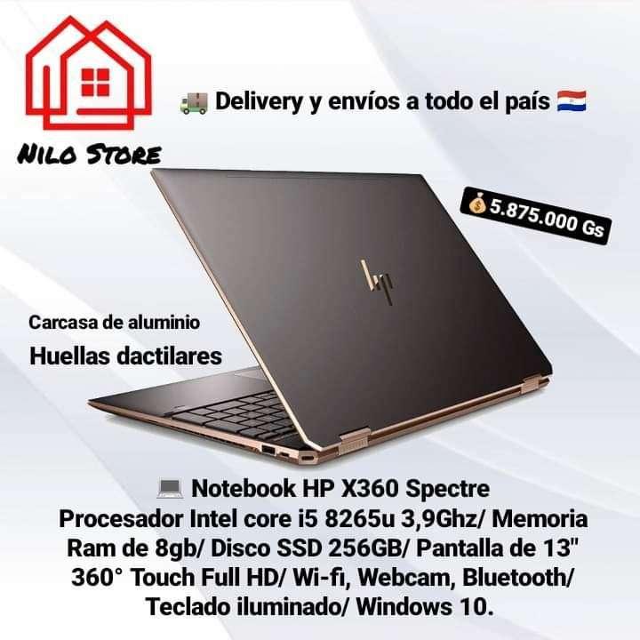 Notebook HP X360 Spectre i5 - 1