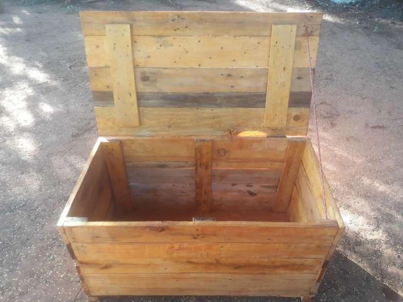 Caja baúl rústico - 2