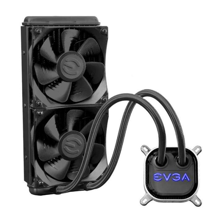 Cooler P/ CPU EVGA 400-HY-CL24-V1 240MM RGB LIQUID/WATER - 0