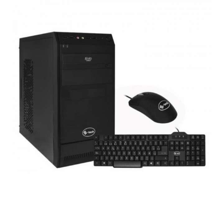 Gabinete E-Tech kit 5826B corp negro 350W sin parlante - 0