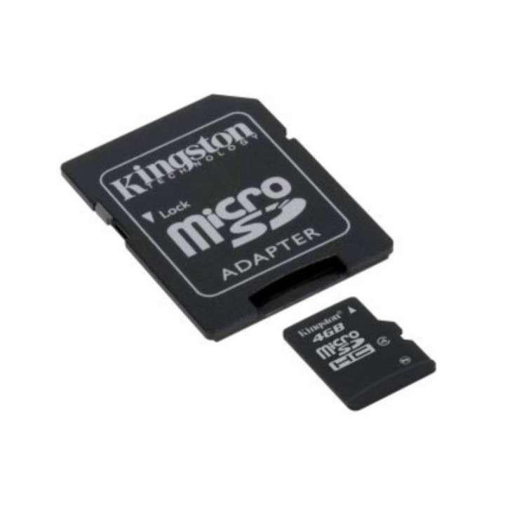 Memoria SD 4gb micro 2x1 Kingston - 0