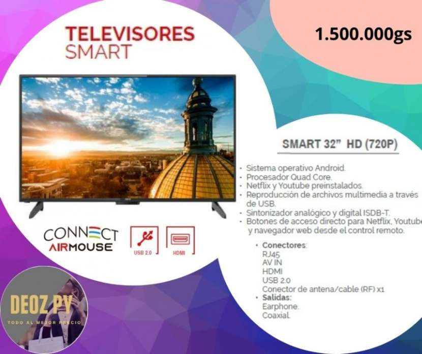 Smart TV Tokyo de 32 pulgadas - 0