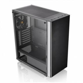Gabinete Thermal V200 Black Vidrio TG 1FAN CA-1K8-00M1WN-00