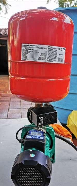 Tanque Syopar 5000 litros con motor 1 hp - 1