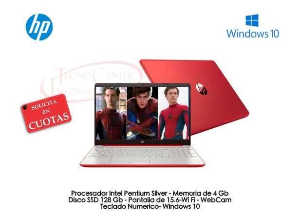 Notebook HP Red Intel Pentium Silver - 0