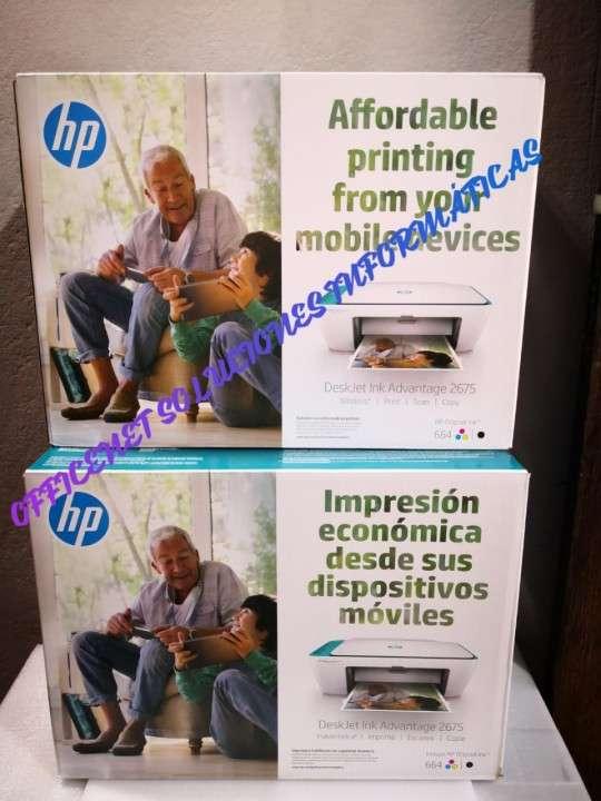 Impresora wifi HP 2675 - 0