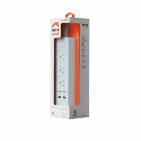 Filtro de línea AHIUBSO4U1 1.8M/3 tomas +2 USB NEXXT IOT