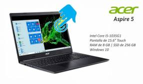 Notebook Acer Intel Core i5 Touch SSD 256GB