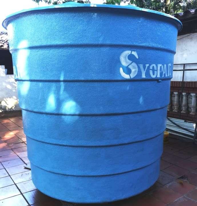 Tanque Syopar 5000 litros con motor 1 hp - 0