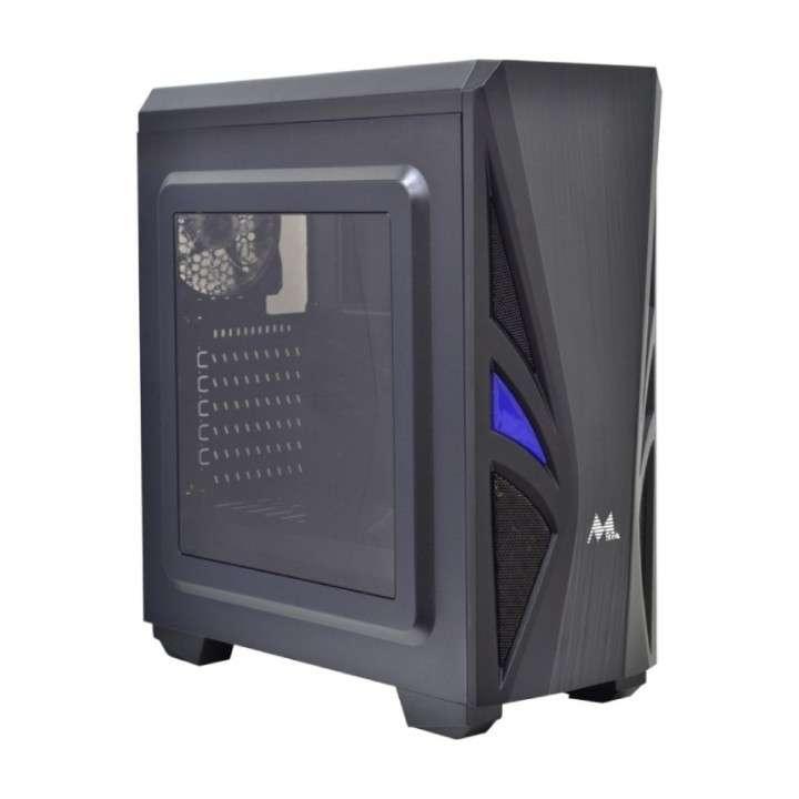 Gabinete MTEK gamer MK865 2 FAN - 0