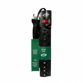 Filtro de línea FTX1078 6 tomas EU/BR 110/220