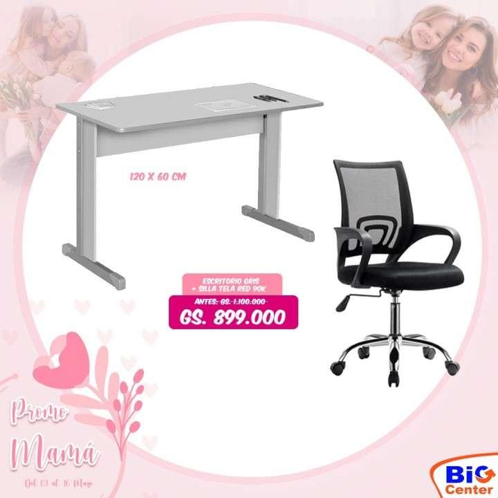 Mesa y silla - 0