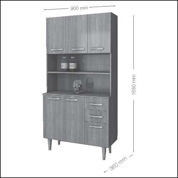 Kit de cocina New KT12 Altezza (687) - 1