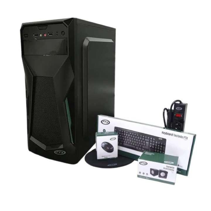 Gabinete kit FTX3705 500W mouse teclado speaker pad filtro FTX SP - 0