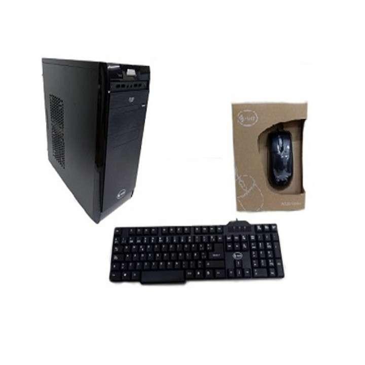 Gabinete E-Tech kit 3109D Elite negro 250W sin parlantes - 0