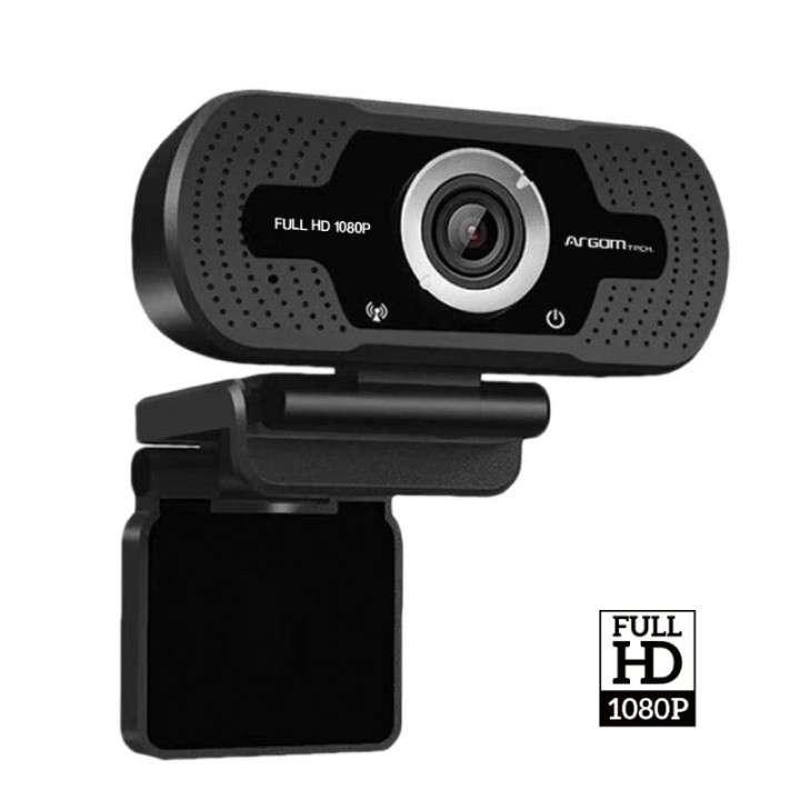 Cámara web ARG-WC-9140BK FHD 1080P C/MIC - 0