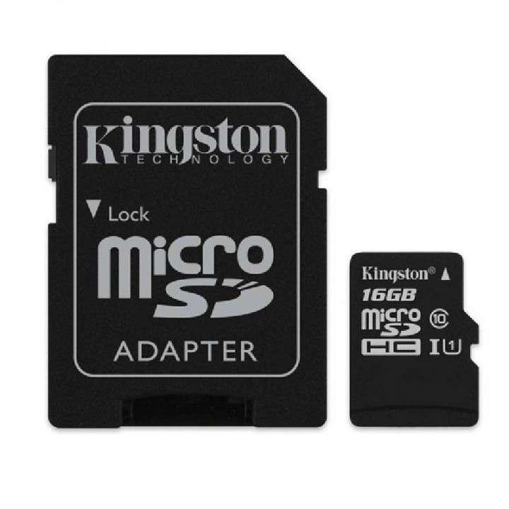 Memoria SD 16gb micro 2x1 Kingston - 0