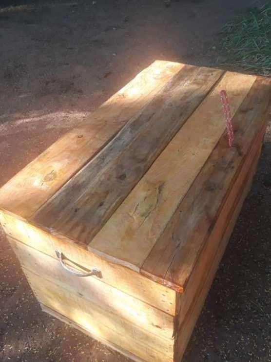 Caja baúl rústico - 6