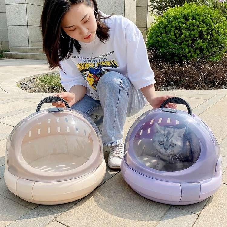 Jaula para Mascotas en formato de Capsula Espacial - 4