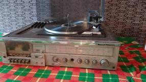 Tocadiscos vintage 3 en 1 National Panasonic
