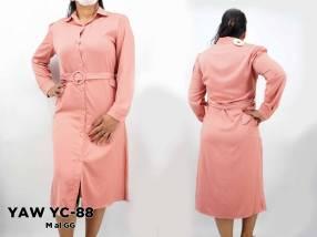 Vestido largo para señora YAW YC-88