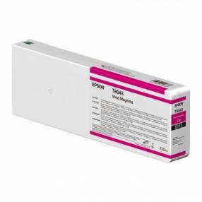 Tinta Epson ultrachrome HD/HDX T804300 Magenta 700 ml línea S