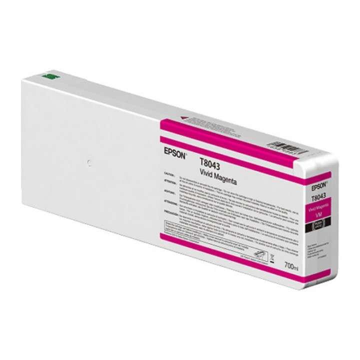 Tinta Epson ultrachrome HD/HDX T804300 Magenta 700 ml línea S - 0