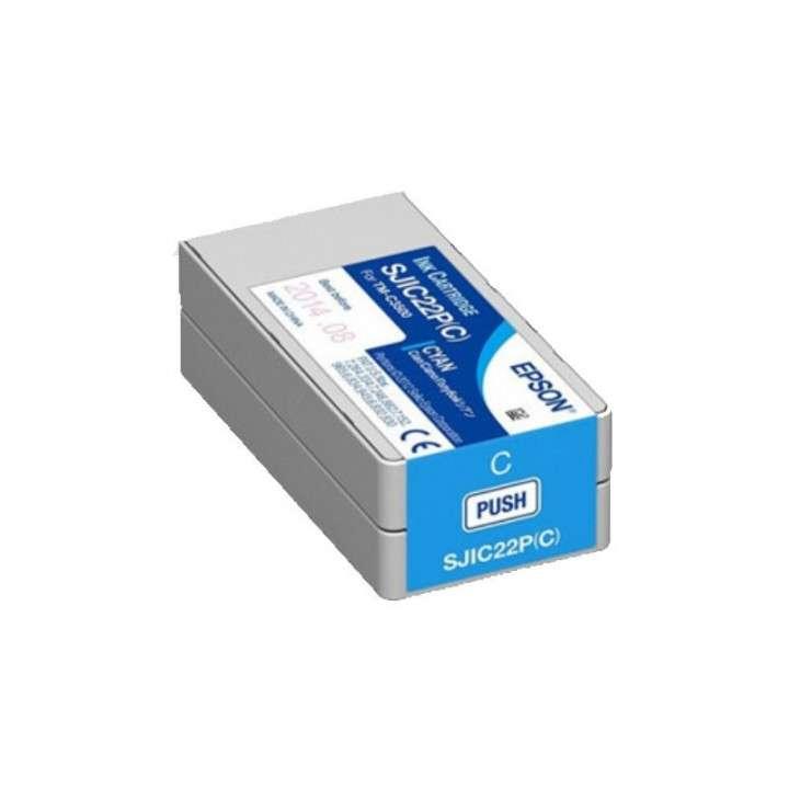 Tinta Epson SJC22P (C) TM-C3500 cyan - 0