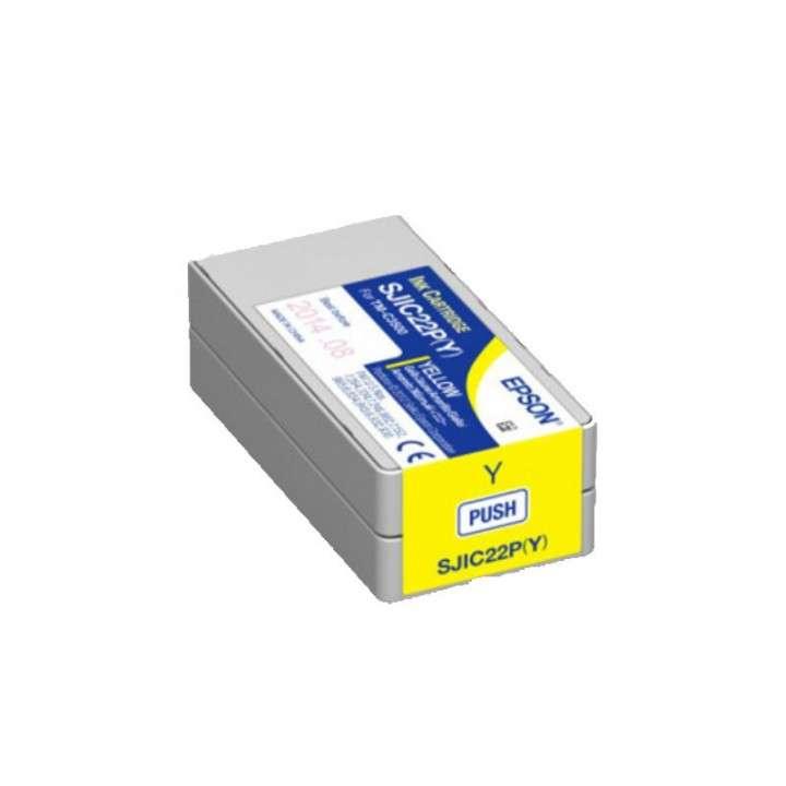 Tinta Epson SJC22P (Y) TM-C3500 yellow - 0