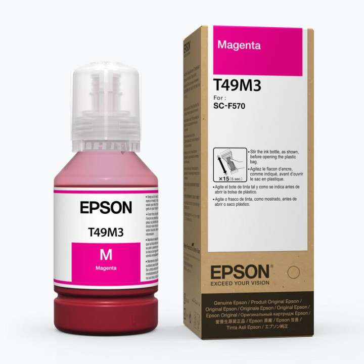 Tinta Epson T49M320 F570 ultrachrome magenta 140ML - 0