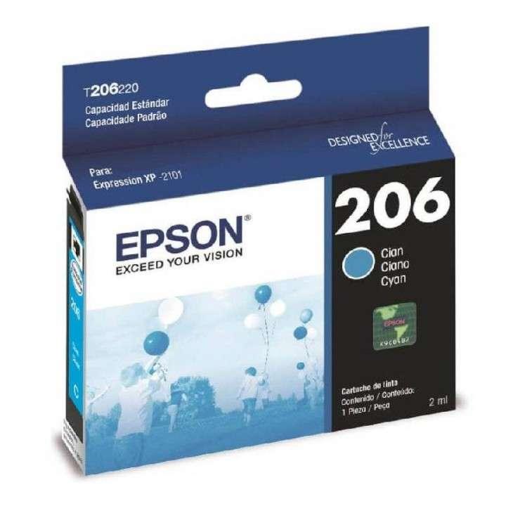 Tinta cyan Epson T206220-AL XP-2101 - 0