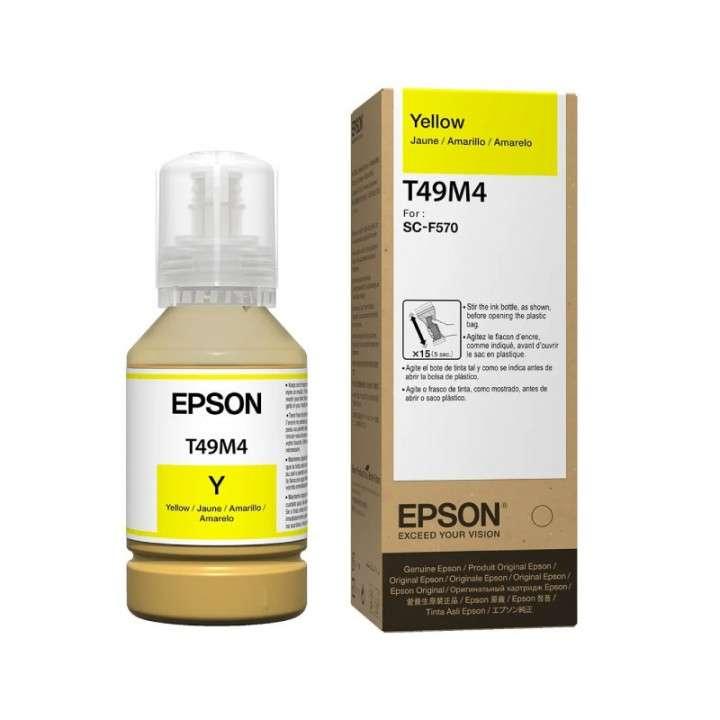 Tinta Epson T49M420 F570 ultrachrome yellow 140 ml - 0