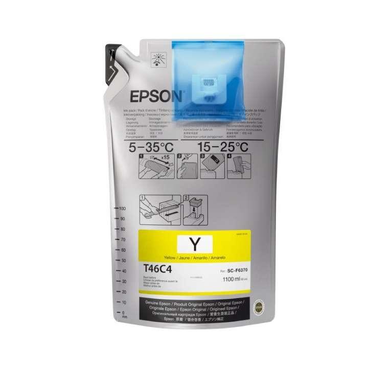 Tinta yellow ultrachrome Epson F6370 T746C420 - 0