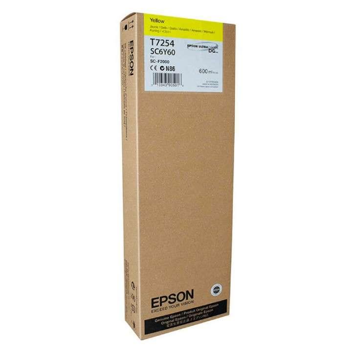 Tinta Epson T725400 amarillo 725 (F2100WE) - 0