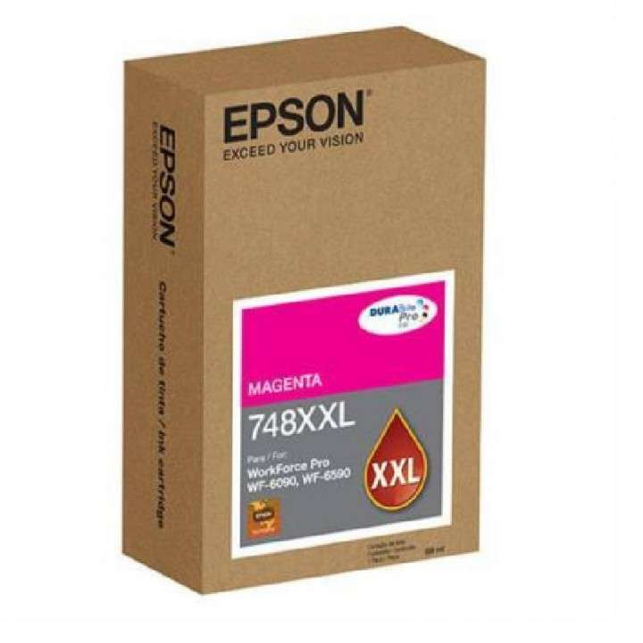 Tinta magenta Epson T748XXL320-A WF-6090/6590 - 0