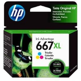 Tinta color HP 3YM80AL 667XL 2375/2775