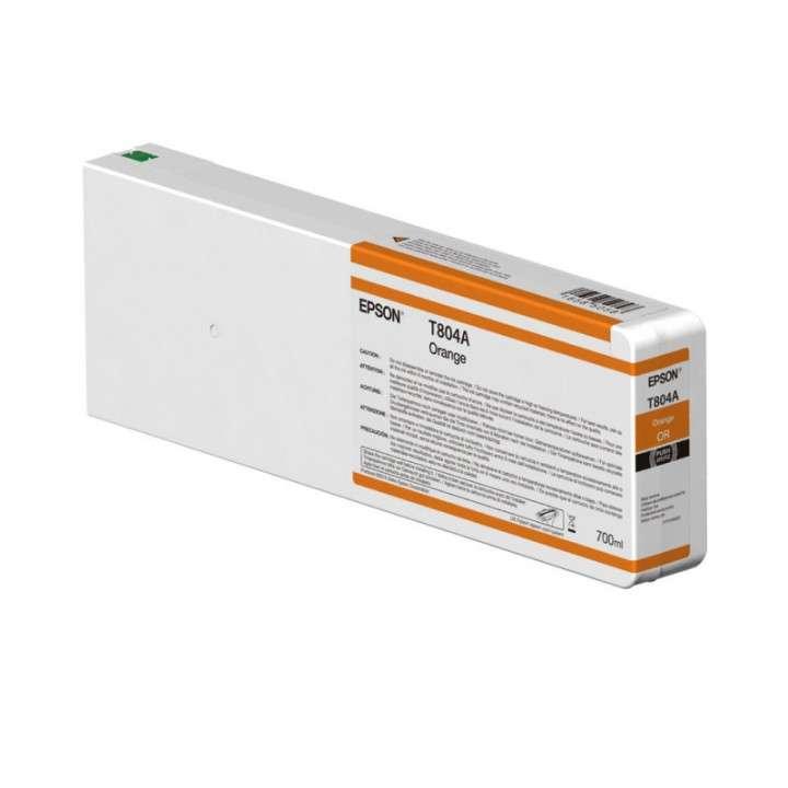 Tinta Epson P9000 T804A00 naranja ultrachrome 700 ML - 0