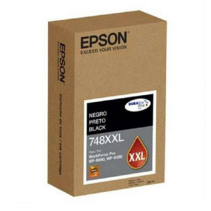 Tinta negra Epson T748XXL120-A WF-6090/6590 - 0