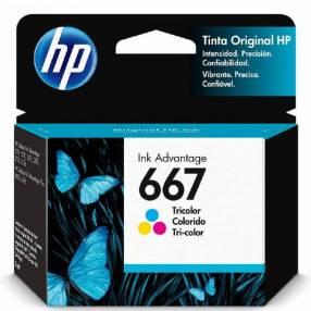 Tinta color HP 3YM78AL 667 2375/2775