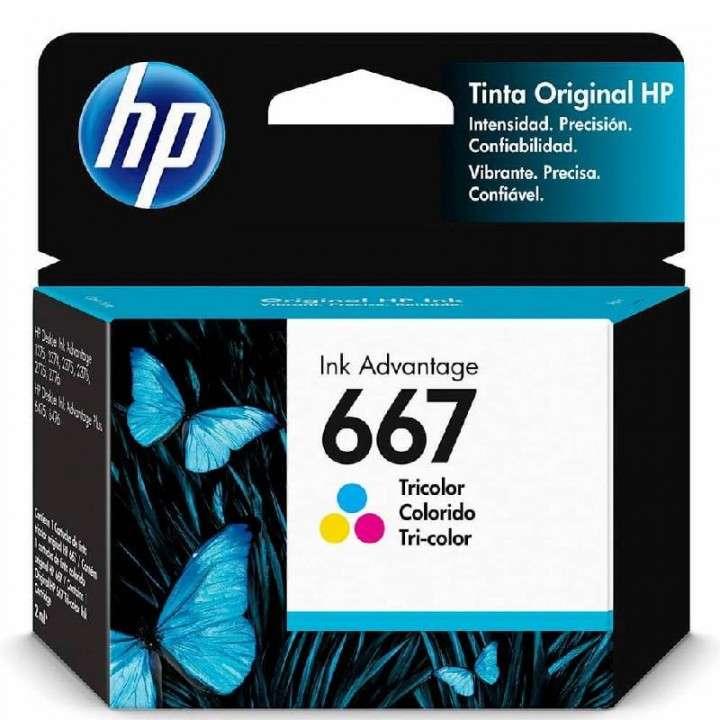 Tinta color HP 3YM78AL 667 2375/2775 - 0