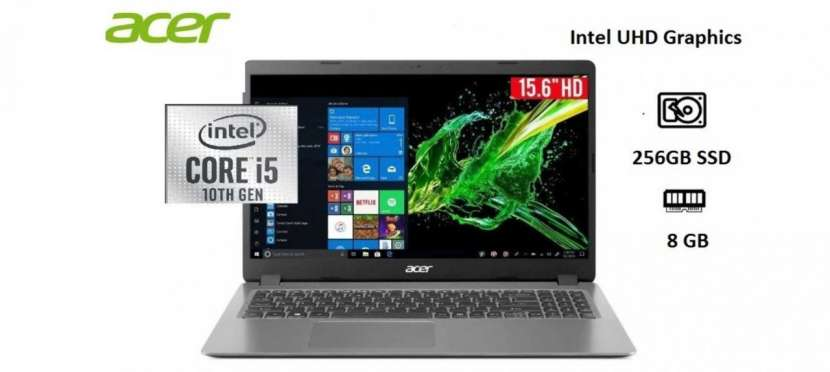 Notebook Acer Intel Core i5 SSD 256 GB - 0
