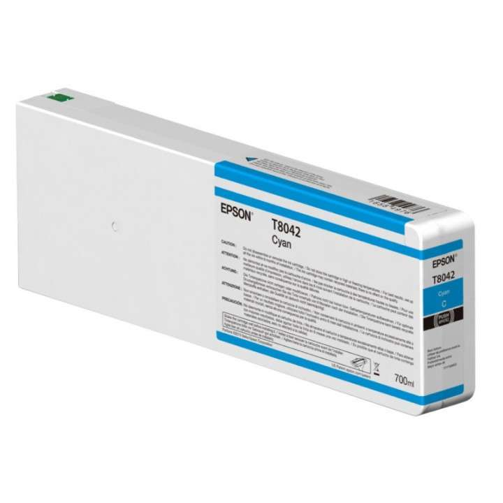 Tinta Epson P9000 T804200 cyan ultrachrome 700 ml - 0